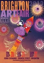 Brighton Art Fair poster 2013