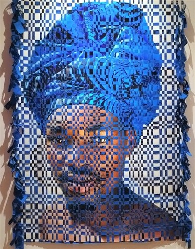 European and African art, La Mamounia Hotel, Marrakech, Morocco, international art fair, contemporary art from Africa, Kyle Meyer, Interwoven