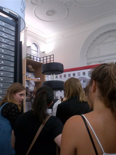 Zabludowicz Collection, students, studies, curation, exhibition